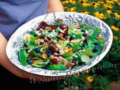 Летний салат с сельдереем