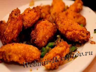 Курица со специями на соли