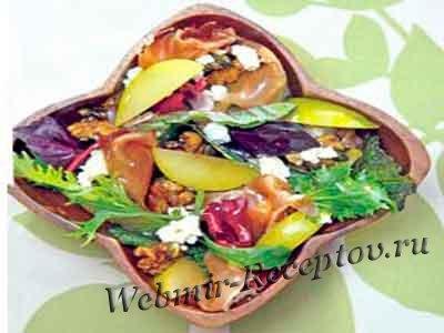 Сливовый салат