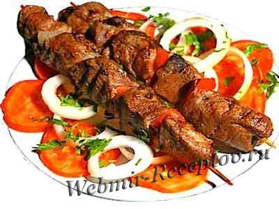 Армянский шашлык с салом