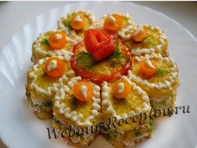 """Сливочный """"Бутербродный торт"""""""