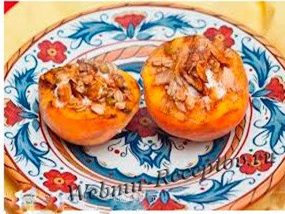 """Закуска """"Фаршированные персики"""""""
