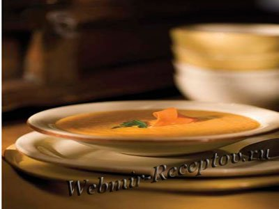 Суп-пюре с огурцами и сырными палочками