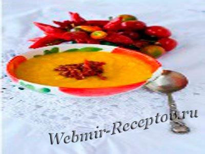 Суп-пюре с морковкой