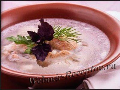 Холодный суп из субпродуктов