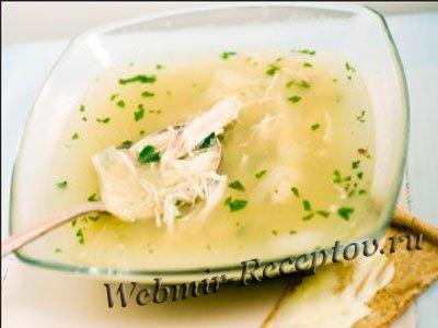 Сырный суп с манкой