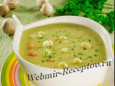 Крем-суп с цветной капустой