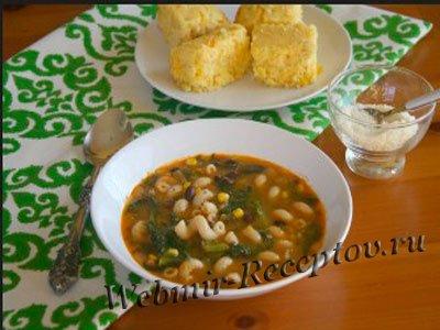 Суп из сухофруктов с макаронами