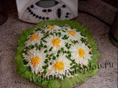 """Говяжий салат """"Ромашковое поле"""""""
