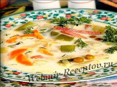 """Овощной суп """"Фея"""""""