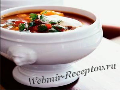 """Говяжий суп """"Посольский"""""""
