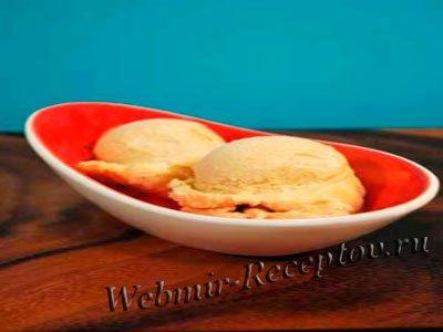 Десерт из хурмы со сливками
