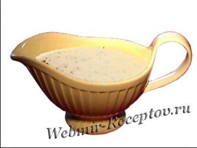 Соус-дип из фруктового йогурта со сметаной