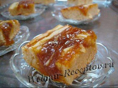 Пирог с абрикосовым вареньем / Пироги и пирожки / TVCook