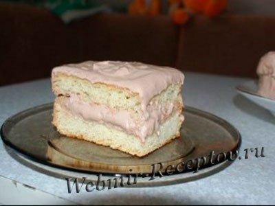 """Бисквитный торт """"На скорую руку"""""""