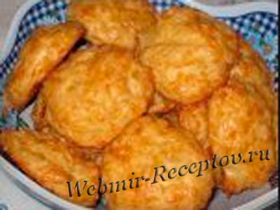 """Печенье с паприкой """"Сырное облачко"""""""