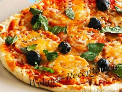 """Пицца с маслинами """"Гости на пороге"""""""