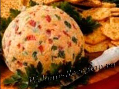 Виноградно-сырные шарики