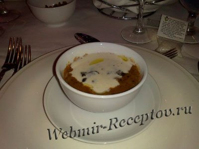 Крем-суп из перловой крупы