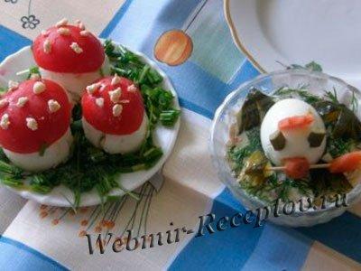 Фигурки из яиц