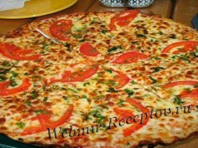 """Пицца с маринованными грибами """"Незабываемая"""""""