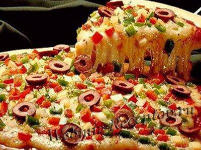 пицца из фарша рецепт с фото