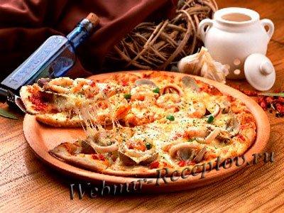 """Пицца с мидиями """"Флоренция"""""""