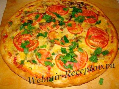 Пицца дрожжевая