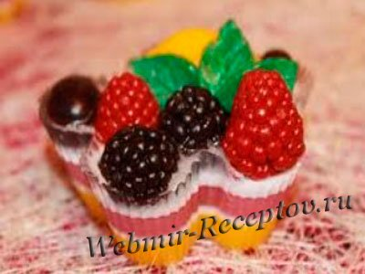 Фруктово-ягодные корзиночки