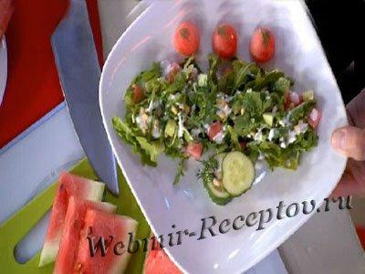 """Фруктовый салат """"Свежий бриз"""""""