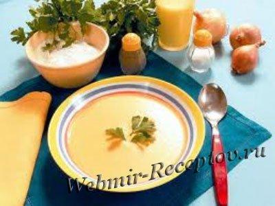 Клюквенный суп на рисовом отваре