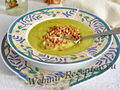 Яблочный суп с перловой