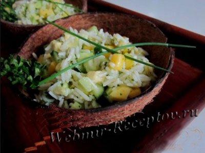 """Салат из сельдерея """"Зеленая свежесть"""""""