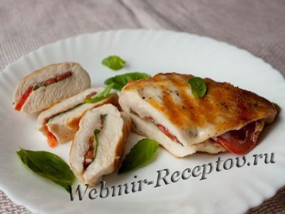 Курица с базиликом