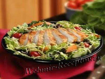 Ветчинный салат