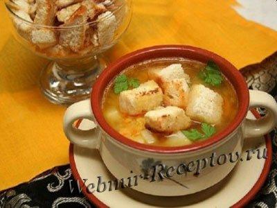 Суп из моркови с грибами
