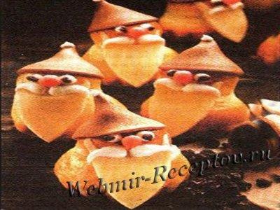 Печенье с мастикой