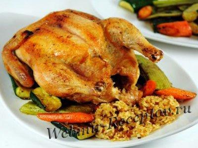 Курица с гречкой