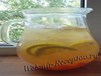 Ледяной цитрусовый чай