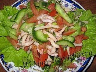 """Салат овощной """"Стройность"""""""
