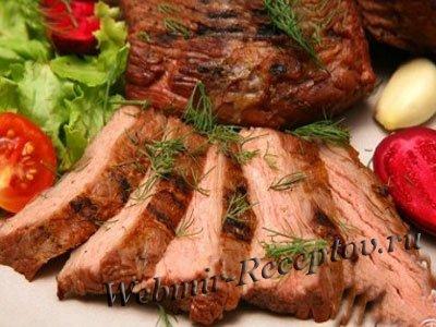 Мясо, запеченное в фольге
