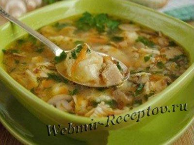 Гречневый пасхальный суп с квасом