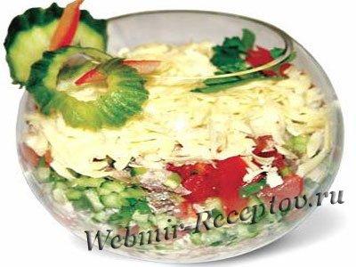С фото и описанием микс салаты