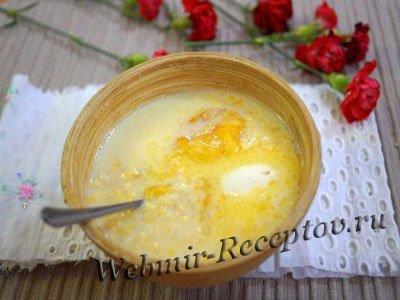 Сладкий рисовый суп