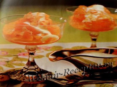 Апельсиновые сахарные дольки
