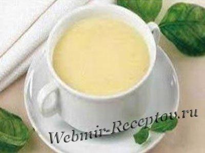 Молочный суп-пюре