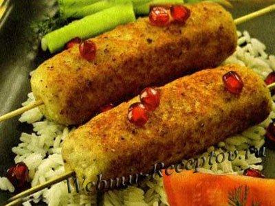 Люля-кебаб из рыбы