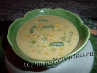 """Овощной суп """"Летний аромат"""""""