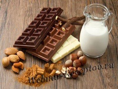 Молоко с орехами