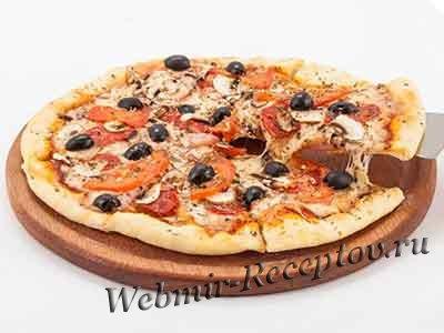 Пицца - популярное мировое блюдо